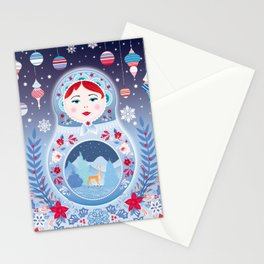 Our Lady of Winter Stationery Cards