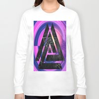 outer space Long Sleeve T-shirts featuring fun in outer space by Healinglove art products