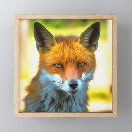 Foxy by Nature Framed Mini Art Print