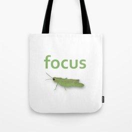 Focus Grasshopper Tote Bag