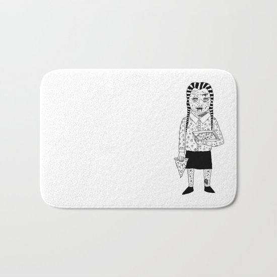 WEDNESDAY ADDAMS Bath Mat