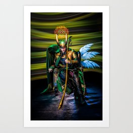 I AM A King Art Print