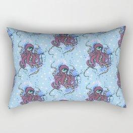 One-eyed Octopus Rectangular Pillow