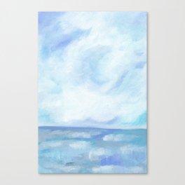 Warm Fall Days - Tropical Ocean Seascape Canvas Print