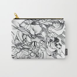 Enter the Branching Sequence - Pencil Sketch Illustration Carry-All Pouch