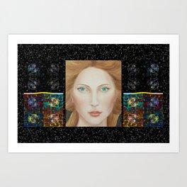 Angel of Electronic Music Art Print