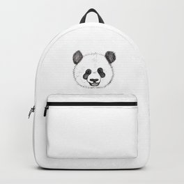 Panda Is Happy To See You Backpack