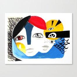 Multiplicidade 3 Canvas Print
