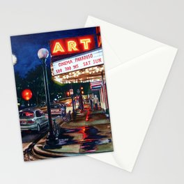 Art Theater Stationery Cards