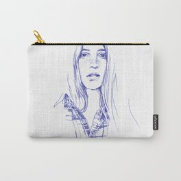 Freckle - cowgirls rule! Carry-All Pouch