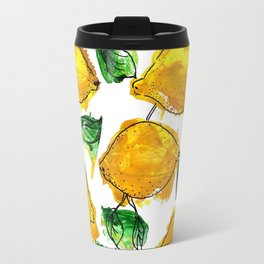 Not far from the lemon tree Travel Mug