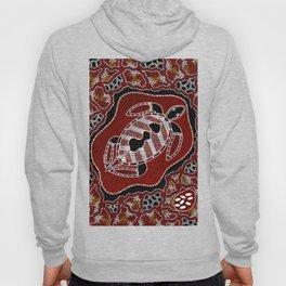 Authentic Aboriginal Art - Turtle Dreaming Hoody