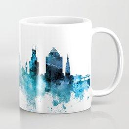 Durham North Carolina Skyline Coffee Mug