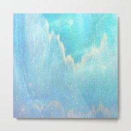 Blue Dreamscape Metal Print