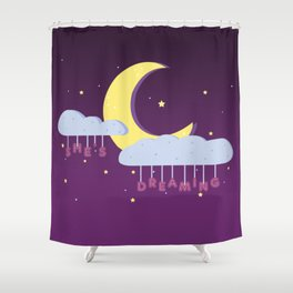 EXO | She's Dreaming Shower Curtain