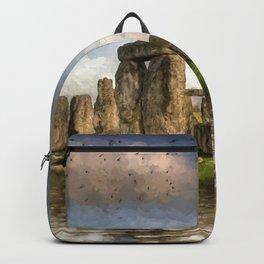 Stone Henge Landscape Backpack