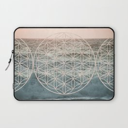 Mandala Flower of Life Sea Laptop Sleeve