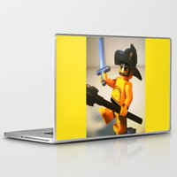 gladiator Laptop & iPad Skins featuring SPARTACUS THE GLADIATOR CUSTOM LEGO MINIFIG by Chillee Wilson by Chillee Wilson [Customize My Minifig]