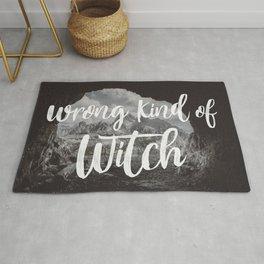 Manon Blackbeak - Wrong kind of witch Rug