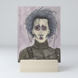 Edward Scissorhands  Mini Art Print