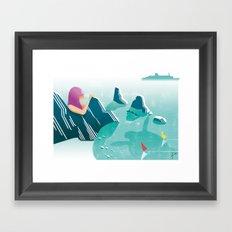 Illustre Conero - Two Sisters Framed Art Print