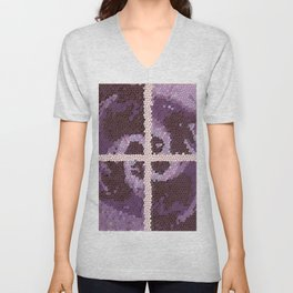Glass Art Unisex V-Neck