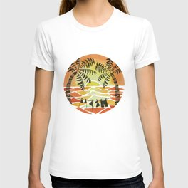 Christmas Sunset T-shirt