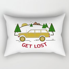 vintage four-wheel-drive buddy Rectangular Pillow