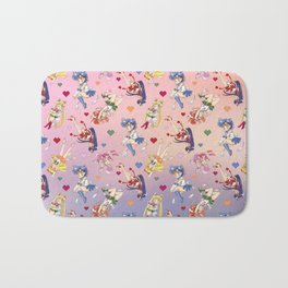 Chibi Super Inner Pattern Bath Mat