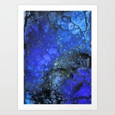 Midnight storm brewing Art Print
