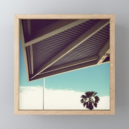 accent point Framed Mini Art Print