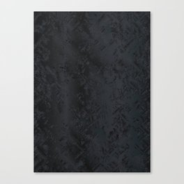 Blac And Tan Abstract Metal Background Canvas Print