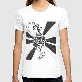 The Fertile Mind by Riendo T-shirt