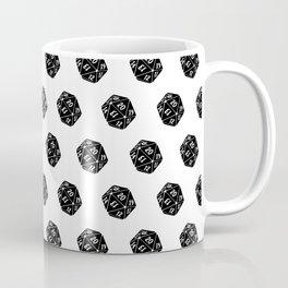 20 Sided Spindown Pattern Coffee Mug