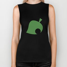 Animal Crossing Leaf Biker Tank