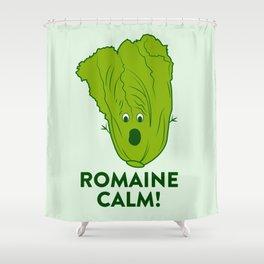 ROMAINE CALM Shower Curtain