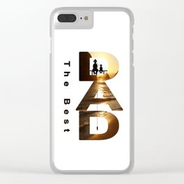 Gift for the dad Clear iPhone Case