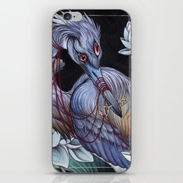Guardian Of The Marshlands iPhone Skin