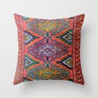 kilim Throw Pillows featuring Kilim by Selen Atac
