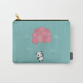 Kawaii Panda In The Sky Carry-All Pouch