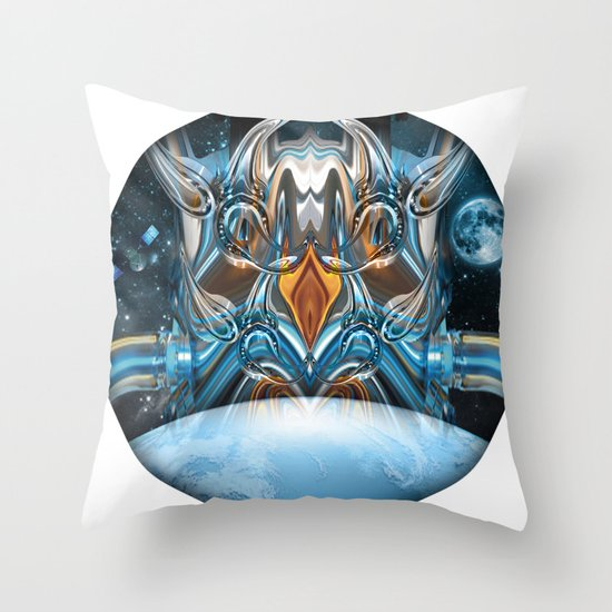 ion insurgence  Throw Pillow