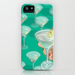 I Like Dirty Martinis iPhone Case