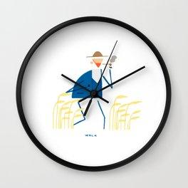 A walk with Van Gogh Wall Clock