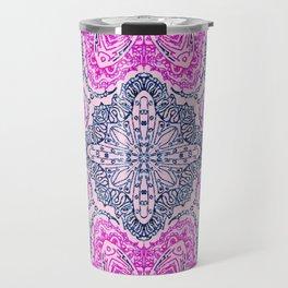 Mehndi Ethnic Style G448 Travel Mug