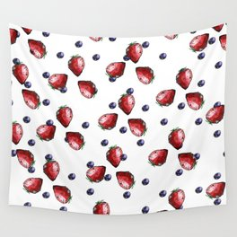 Berry Fields Wall Tapestry