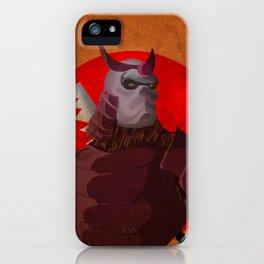 Warforged Samurai iPhone Case