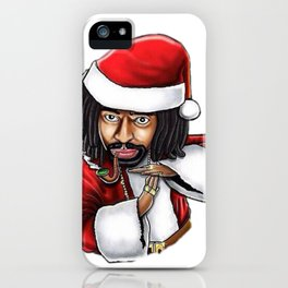 Bay Xmas iPhone Case