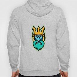 Poseidon Greek God Mascot Hoody
