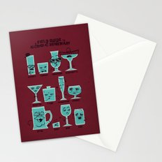 Field Guide to Alcoholic Drinkware Stationery Cards