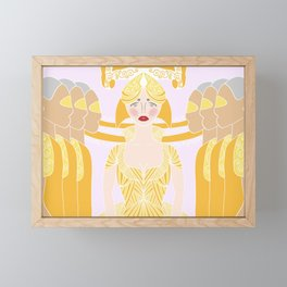 Panic Queen Framed Mini Art Print